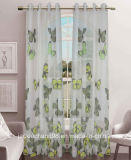 Printed Voile Grommet Curtain for Home Textile