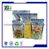 Custom Printed Ziplock Mylar Aluminum Foil Bag for Herb Tea Packaging