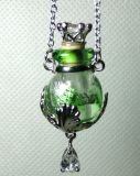 Glass Perfume Vial Bracelet Handmade Aroma Necklace Essential Oil Bottle Necklace