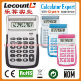 8 Digits Handheld Calculator with Flip-up Cover (LC596)