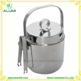 Hotel Durable Stainless Steel Ice Bucket with Ice Tong