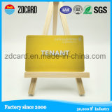 Gold Printing Plastic Visiting Business Card