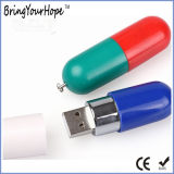 Pill Shape Flash Memory Drive (XH-USB-020)