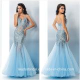 Crystals Party Prom Cocktail Gown Beading Evening Dress L1729