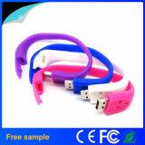 New Styles! Silicone Wrist Band USB Stick Bracelet USB Disk