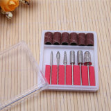 Nail Art Care File Drill Bit Set for Grinding