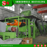 Rubber Mulch Machine for Recycling Whole Tyre