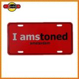 Low Price Security Aluminum License Plate Number Plate, Car Plate, Metal Sign