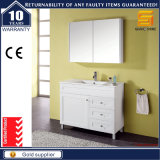 Sanitary Ware White Lacquer Bathroom Cabinet Set with Mirror Cabinet