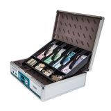 Aluminum Portable Cash Box with Lock Large Size B598