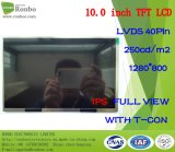 "10.1"" 1280*800 Lvds 40pin 250CD/M2 TFT LCD Module for POS, Doorbell, Medical"