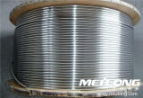 S31803 Duplex Stainless Steel Downhole Hydraulic Control Line Coiled Tubing