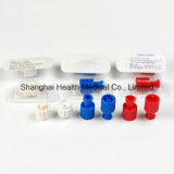 Combi Stopper, Syringe Plug, Female or Male Luer Lock Cap Accessories for Syringe