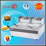 1 Tank 2 Baskets Electric Deep Fryer Manufacturer Selling