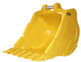 3m3 Rock Bucket /Mining Bucket/Heavy Duty Bucket for Kamotsu 600