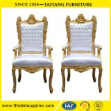 Classic King Chair Set Bride and Groom Furniture