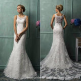 Lace Wedding Dress Mermaid Customized Bridal Wedding Gown W52219