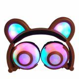 Color Cute Funny Custom LED Light Kids Headphones