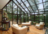 Woodwin Hot Seller safety Glass Aluminum Glass House