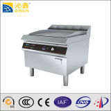 Restaurant High Heating Efficiency Induction Griddle