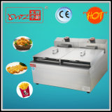 24L Two Tanks Two Baskets Electric Deep Fryer Df-904 Made in China