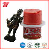 70g 210g 400g Vego Brand Healthy Canned Tomato Paste Wtih High Quality