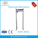 8/10zones Large LCD Screen Walk Through Metal Detector Jkdm-800A