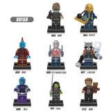 Plastic Building Blocks Toys Mini Figures Guardians of The Galaxy (X0159)
