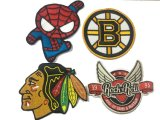 2017 High Quality Premium Embroidery Cartoon Excellent Woven Patch