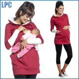 100% Cotton Fashion Women Maternity Fleece Hoodies