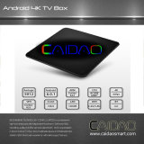 2017 Coming Android7.1 Caidao Smart TV Box Amlogic S912 Octa Core TV Box 2g/16g LAN 4k WiFi Dlna Kod17.1