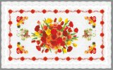 80*130cm Independent Design Printed Pattern Transparent Table Cloth and Oilproof, Disposable, Waterproof Feature