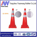 China Factory Colour Blue Orange Yellow PVC Traffic Road Safety Cone