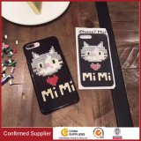 Customized 3D Cartoon DIY Building Blocks Mobile Covers for iPhone