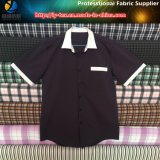 Polyester T400 Yarn Dyed Check Fabric, Spandex Yarn Dyed Fabric for Shirt (YD1132)