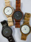 Fashion Women′s Wood Watch with Japan Quartz Movement