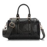 OEM Lady Designer Hand Tote Bag Patent Leather Shoulder Handbags