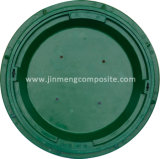 SMC Green Lawn Manhole Cover 700*150mm with Composite Material
