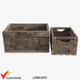 Retro French Style Recycle Wooden Multifunctional Box
