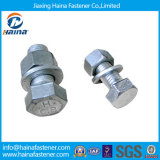 Us Type Galvanized Hex Bolts & Nuts Power Fitting