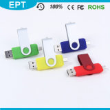 Mobile Phone Swivel OTG USB Flash Drive (ET010)