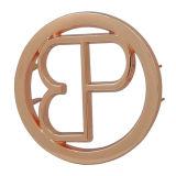 Custom Rose Gold Cutout Metal Tags for Handbags
