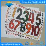 Custom Full Color Printing PP Table Mat Plastic Mat
