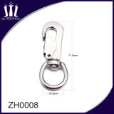 Fashion Zinc Alloy safety Snap Hook with Screw Lock