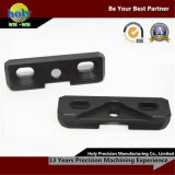 CNC Mill Aluminium Case of Through Hole with Black Anodized