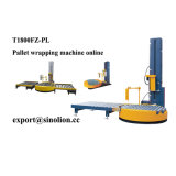 Turntable Pre-Stretch Pallet Online Stretch Wrapping Machine