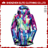 Plus Size Sublimation Printed Snowboard Jackets for Women