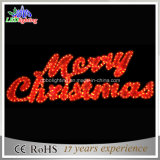 Shopping Mall Decorative LED Merry Christmas Banner Decoration