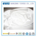 Pure White100% Polyester Satin Fabric for Home Textiles