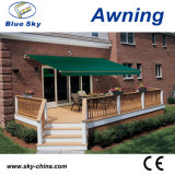Economic Polyester Motorized Retractable Awning (B2100)